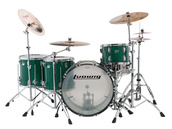 ludwig green sparkle vistalite drum kit sale
