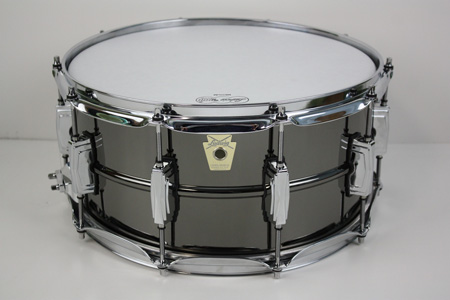 buy a used ludwig lb417 6 5 x 14 black beauty snare drum snares for sale online or buy in our. Black Bedroom Furniture Sets. Home Design Ideas