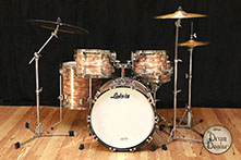 limited edition pink oyster pearl ludwig kit