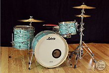 buy a used ludwig drum kit in turquoyster wrap
