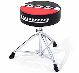 ludwig atlas throne seat in red