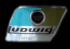 70's ludwig badge