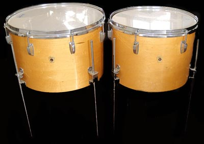 1960's ludwig toms in maple perhaps