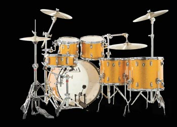 ludwig 2 up 2 down drumkit
