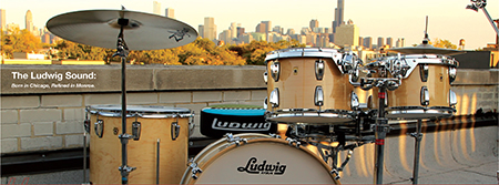 Ludwig drum factrory in chicago