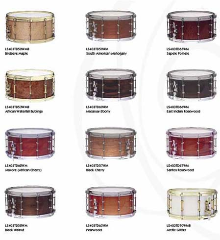 ludwig exotic wood snares