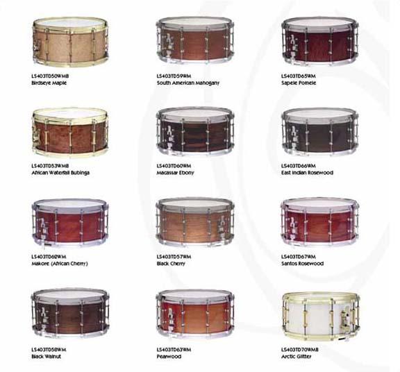 buy ludwig exotic wood snare drums on sale in chicago. Black Bedroom Furniture Sets. Home Design Ideas