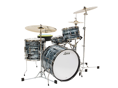 buy ludwig club date drums in blue strata