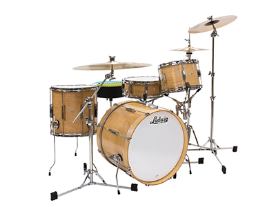 ludwig club date drum sale natural satin