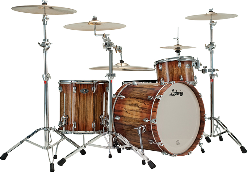 Buy Ludwic Legacy Exotic drums.  We offer Ludwig Legacy Maple Exotic drums at discount prices.  See why Ludwig drums get great reviews and are preferred by drummers world wide.