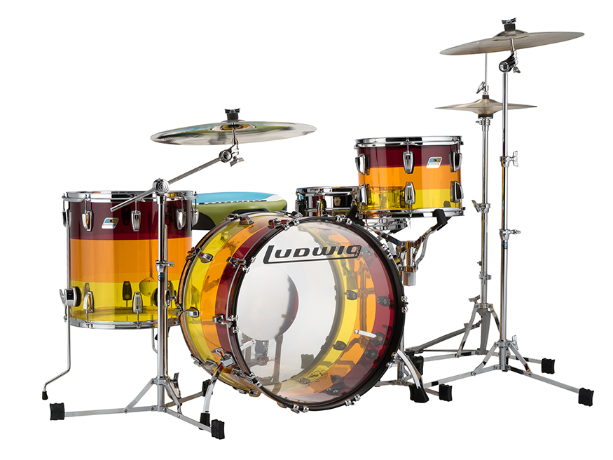 limited edition ludwig tequila sunrise super classic