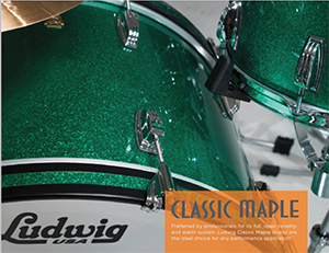 classic maple green sparkle