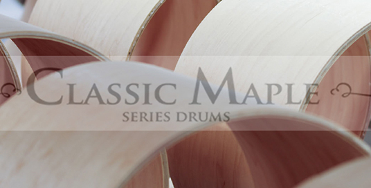 We offer Luswig Classic Maple Drums and Components.  Buy Ludwig online or for sale in our Chicago drum shop.