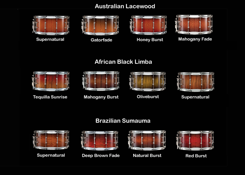 Ludwig Drum Finish And Color Options