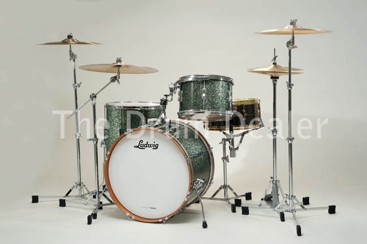 buy a new ludwig club date fab 3 shell pack with atlas hardware