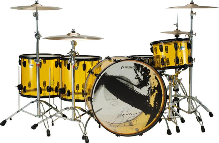 jason bonham ludwig drum kit in chicago.